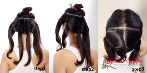 如何用卷发棒弄好看的发型图片