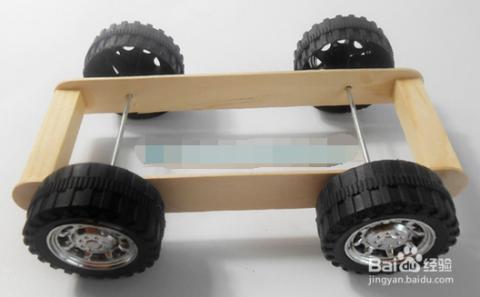 【手工】diy科技制作小发明玩具易拉罐卡车图片
