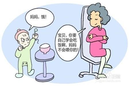 幼儿错误吃饭简笔画