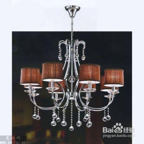 款式造型有蜡烛台式吊灯