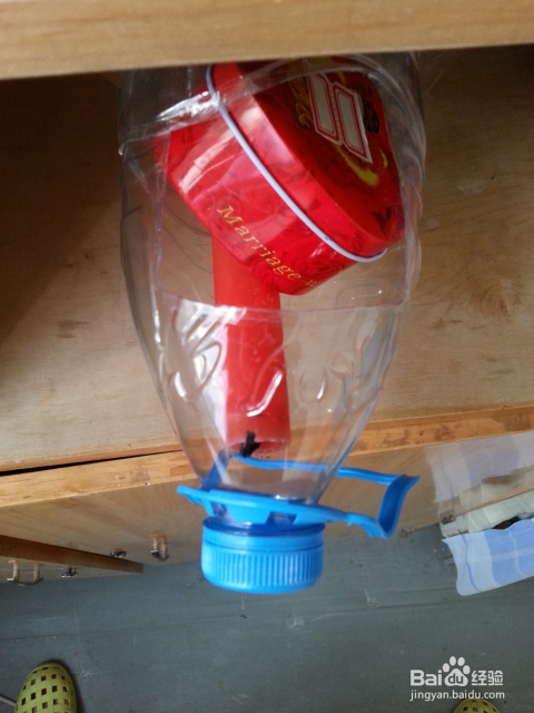 旧物改造——矿泉水瓶改造隐形收纳盒