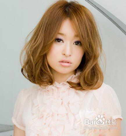 女短发烫发发型图片_美发_百度经验