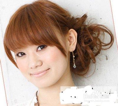 2013韩式发型扎法适合懒人上班族的简单好看扎法图片