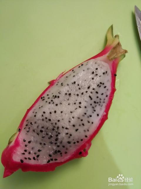 火龙果的多种切法_小吃图片