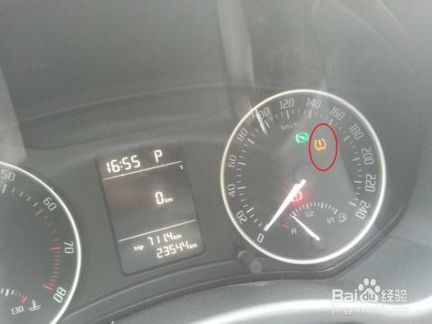 斯柯达明锐显示轮胎气压监测系统警告灯怎么处理图片