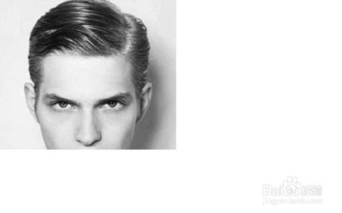 分头发型:有三七分,四六分,个人感觉很时尚很有气质的一款发型图片