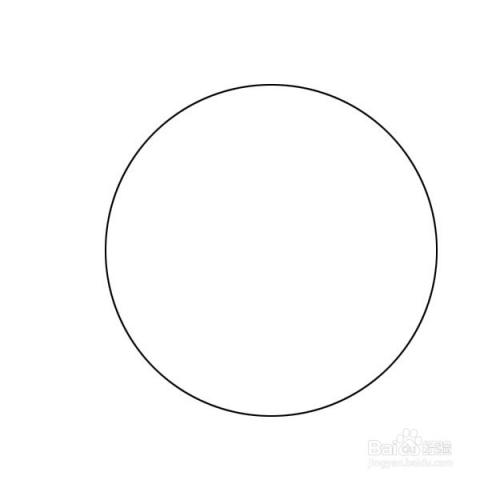 先用钢笔工具划一个圆.图片