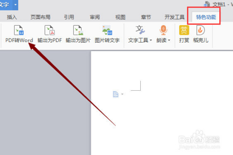 怎么用wps把pdf文档转换为word文档?图片