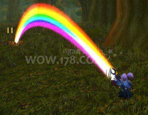 魔兽世界彩虹一样的附魔_魔兽世界,大灾变,怎样获得彩虹产生装置?