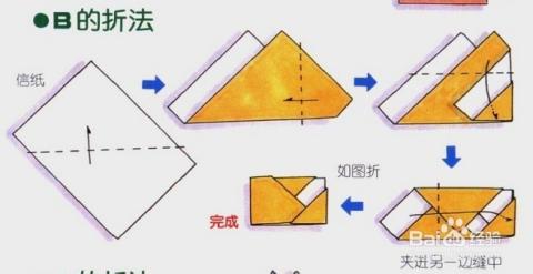 书信折纸系列[3]折信纸和信封图片