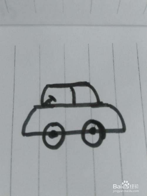 简笔画各种车的画法
