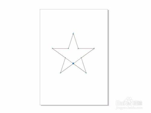 coreldraw x7画五角星的简易画法图片