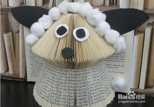不妨将旧书变废为宝,将其制作成一个个很有个性的手工艺品吧.图片