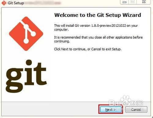 如何在windows下安装GIT