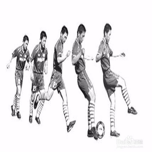 踢足球的技巧动作-各种踢球的技术特点图片