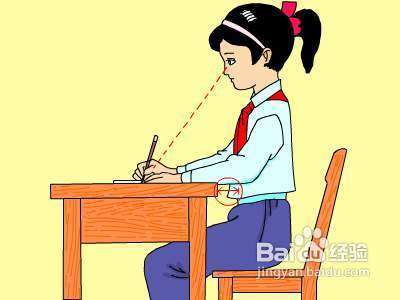 镇江软/硬笔书法培训班|写字的正确坐姿