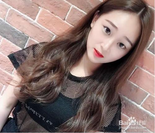 2017网红发型女中长发图片