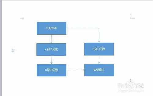 怎样在word中画流程图图片