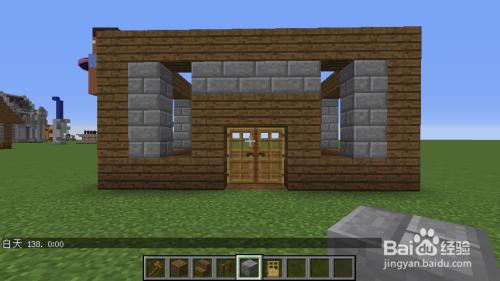 我的世界建筑:欧式小木屋图片