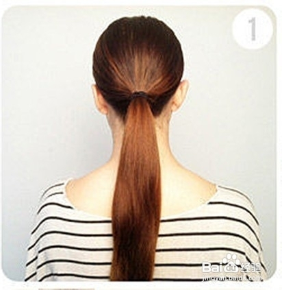 长头发怎么梳理图解图片
