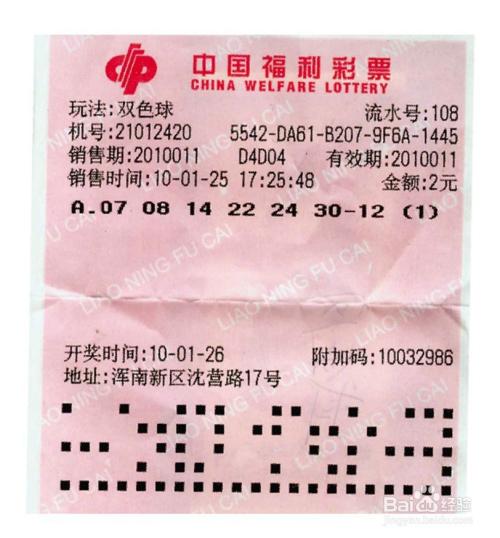 教你如何知晓中国福利彩票双色球游戏方式