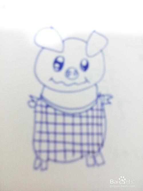 教你学画画:[11]简笔画小猪图片
