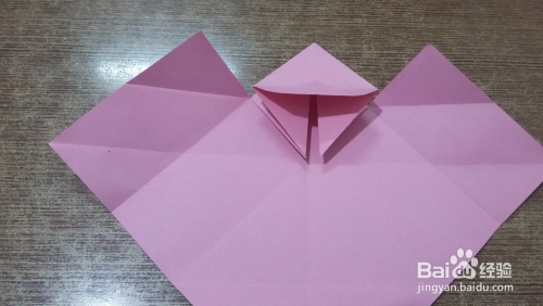 妈妈手工:兔子信封的彩纸折法图片