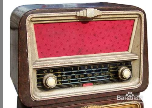 """""""古色古香""""的国产电子管收音机具有极高的审美价值. end图片"""