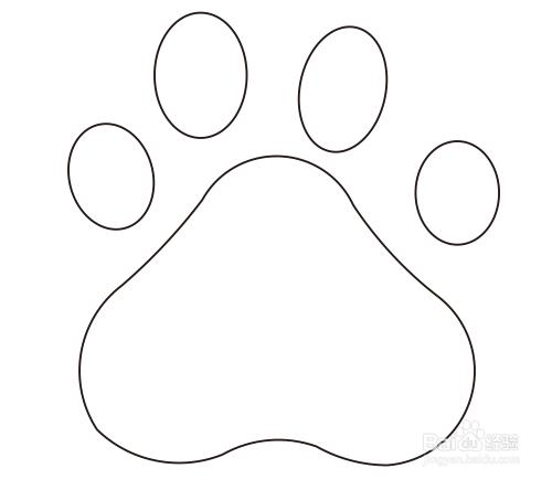 coreldraw绘图技巧:[1]百度图标的画法图片