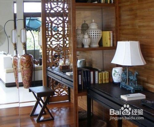二楼卧室  【装修案例分析】:休闲区和洗漱区的结合,现代材质的对比图片