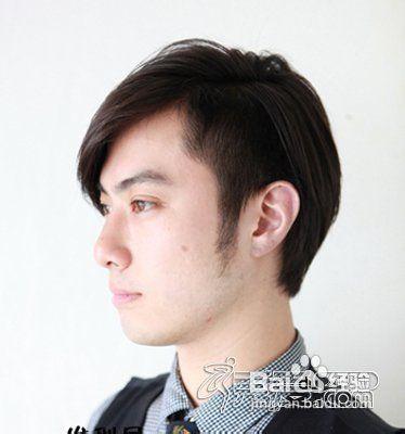 >v短发4中短发剪出职场效果,很清爽很干净的图片男士发型,干练男宝宝发型短长发2016图片
