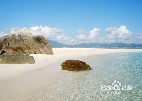 三亚海边美女风景图片