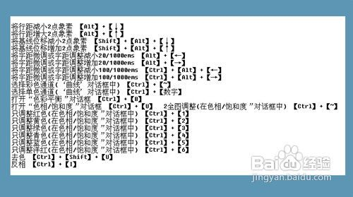 3 第三步:ps图层混合模式快捷键. 4  第四步:ps工具箱快捷键图层.图片