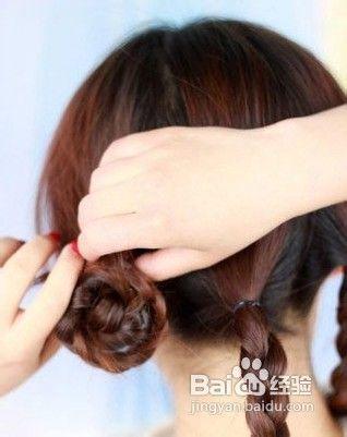 韩式发型编发,轻松打造甜美发型图片