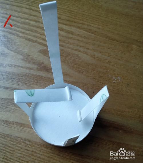 用一次性纸杯做工艺品-小椅子图片
