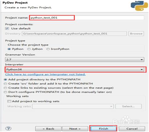 Python入门基础教程 用Eclipse编写Python程序