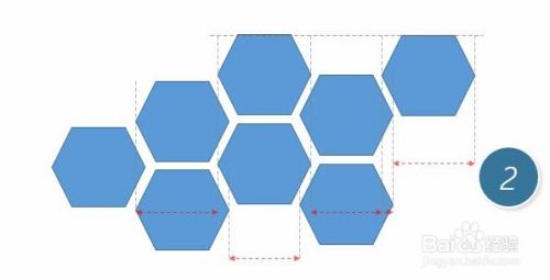 如何快速设计蜂窝表达的图形设计图片