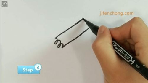 【简笔画·人物】如何画动漫卡通女孩