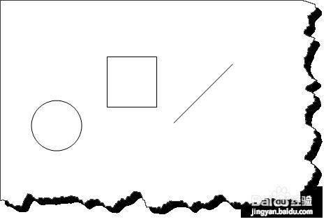 当使用shift时,可以画出正形图形(如椭圆时为圆形,长方形图片