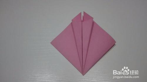 创意手工折纸 孔雀的折法图片