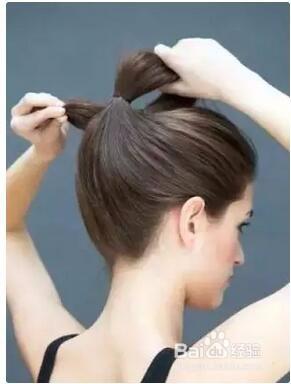 包包头发型简单扎法图片