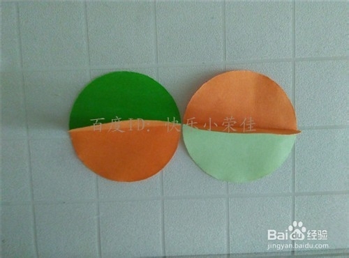 中秋节折纸:制作简单小灯笼装饰图片