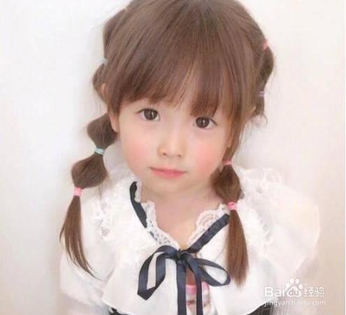 8款小女孩发型绑扎方法大全,超可爱宝宝变