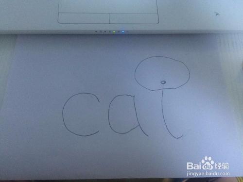 简笔画人物小猫可爱