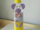 手工制作----矿泉水瓶如何改造成卡通小熊?图片