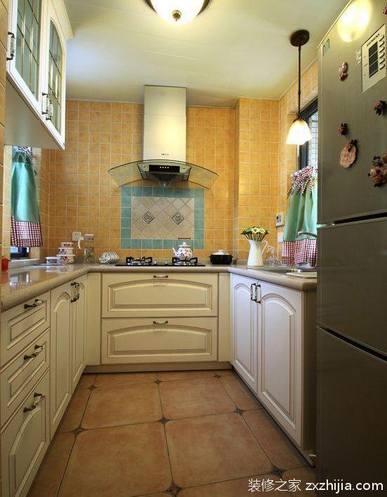 欧式整体厨房装修橱柜效果图_装修之家装修效果图图片