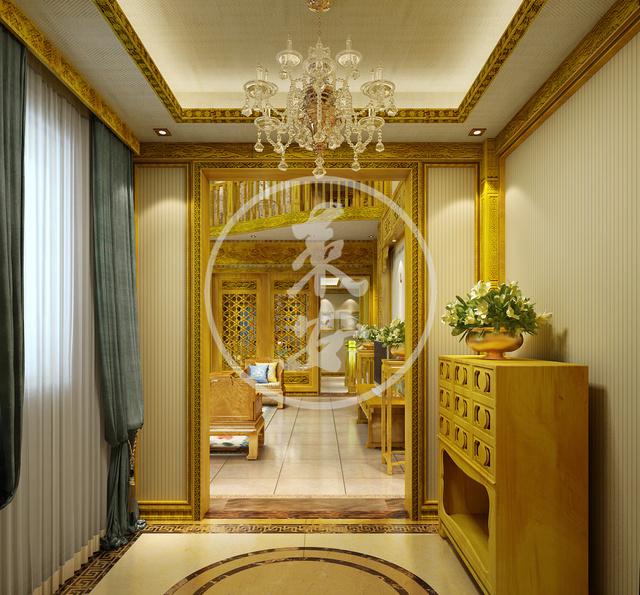 金丝楠中式古典装修,此生无憾了!图片
