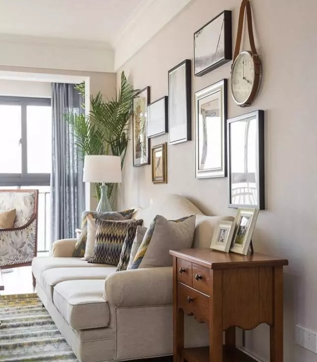 132㎡现代美式,家电除外20万,好暖心的家!图片