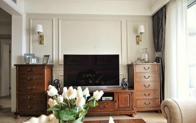 120㎡美式风格,儿童房很实用,客厅钢琴好霸气图片