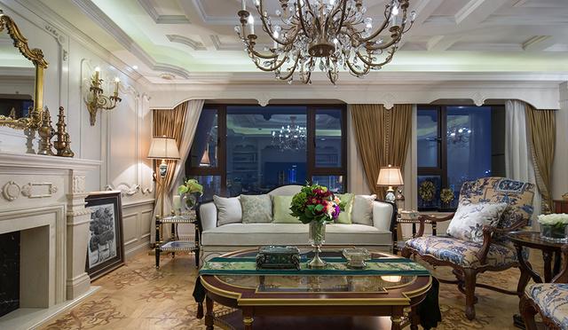 悄悄的分享一套土豪大大家的欧式风格装修案例图片